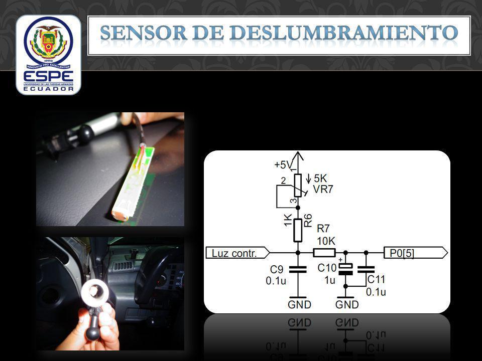 Sensor de DESLUMBRAMIENTO