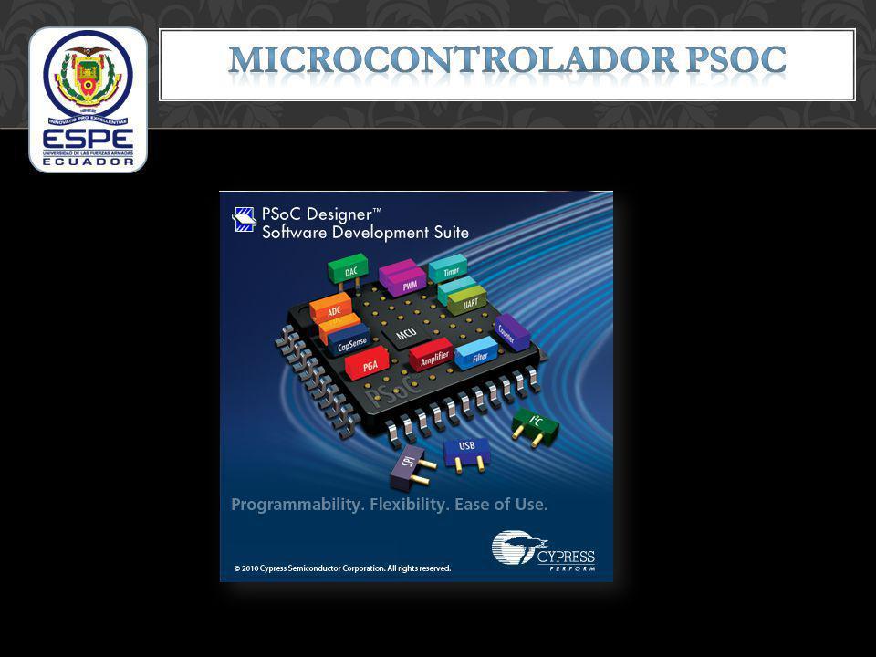 MICROCONTROLADOR PSOC