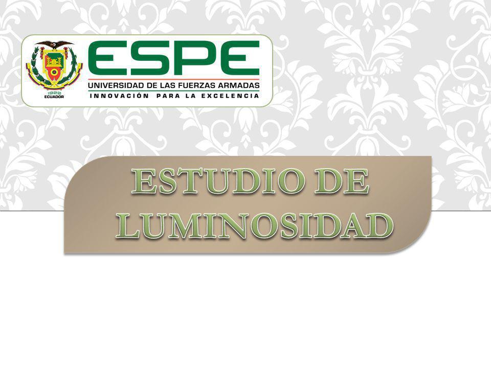 ESTUDIO DE LUMINOSIDAD