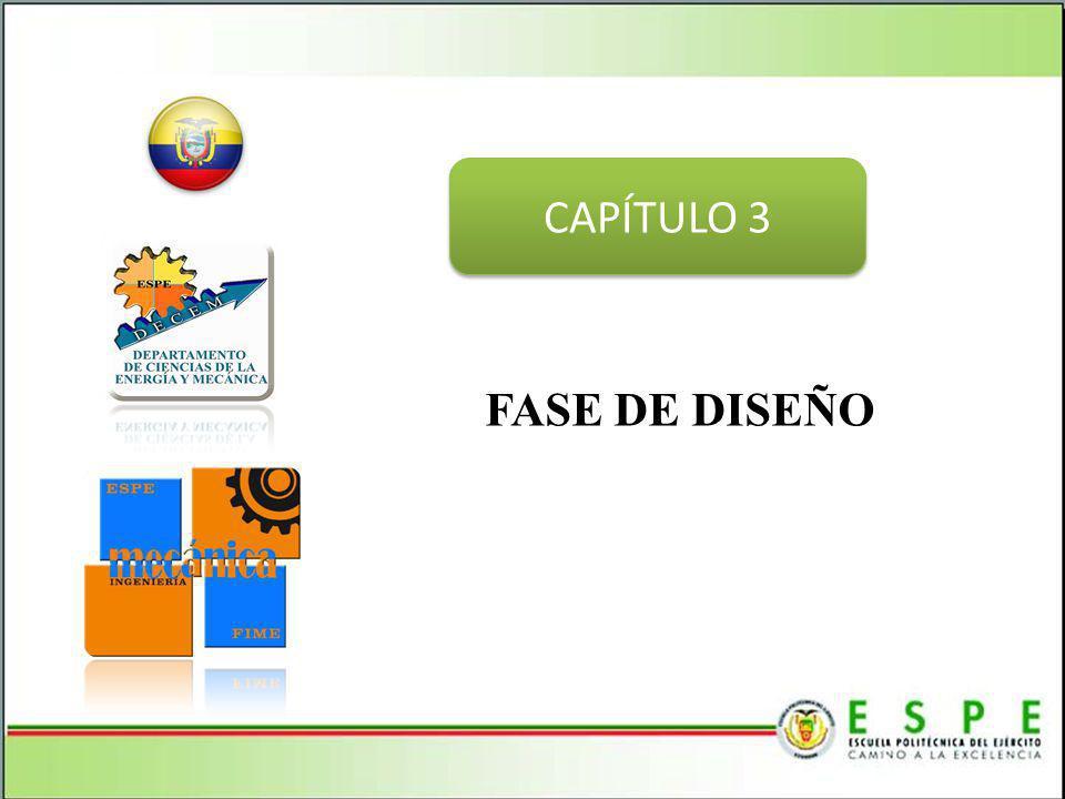 CAPÍTULO 3 FASE DE DISEÑO