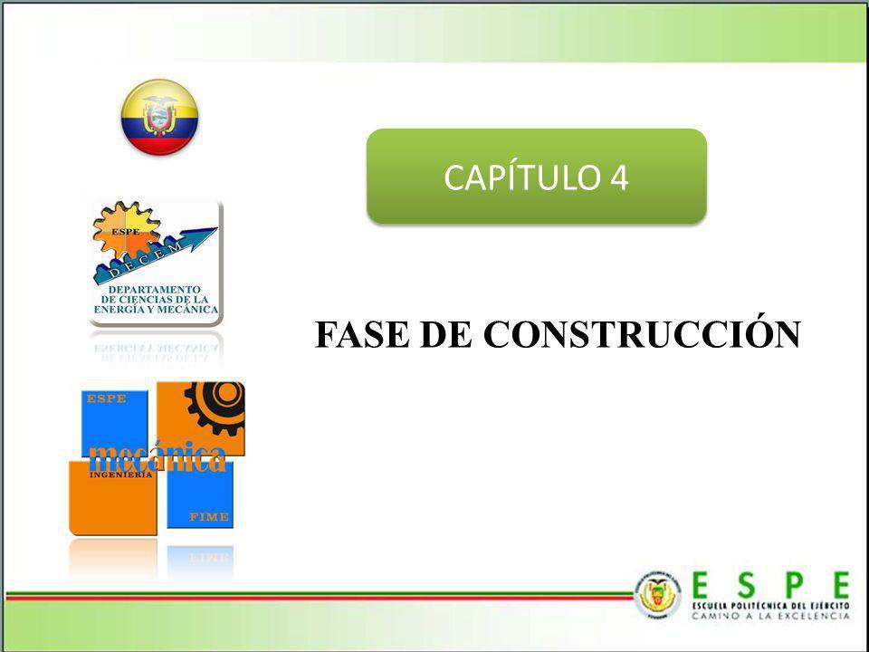 CAPÍTULO 4 FASE DE CONSTRUCCIÓN