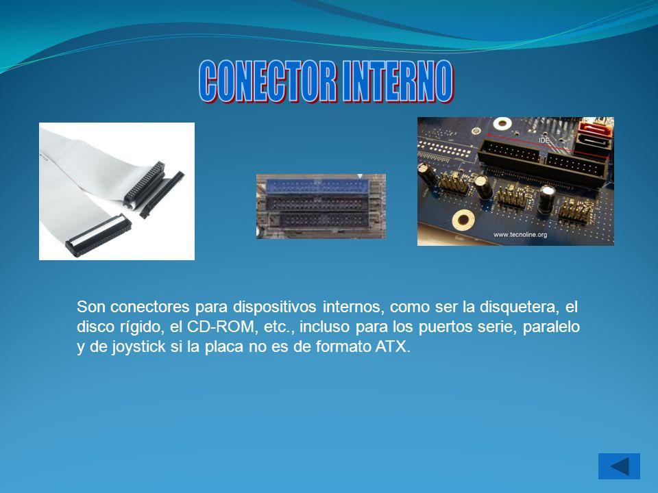 CONECTOR INTERNO
