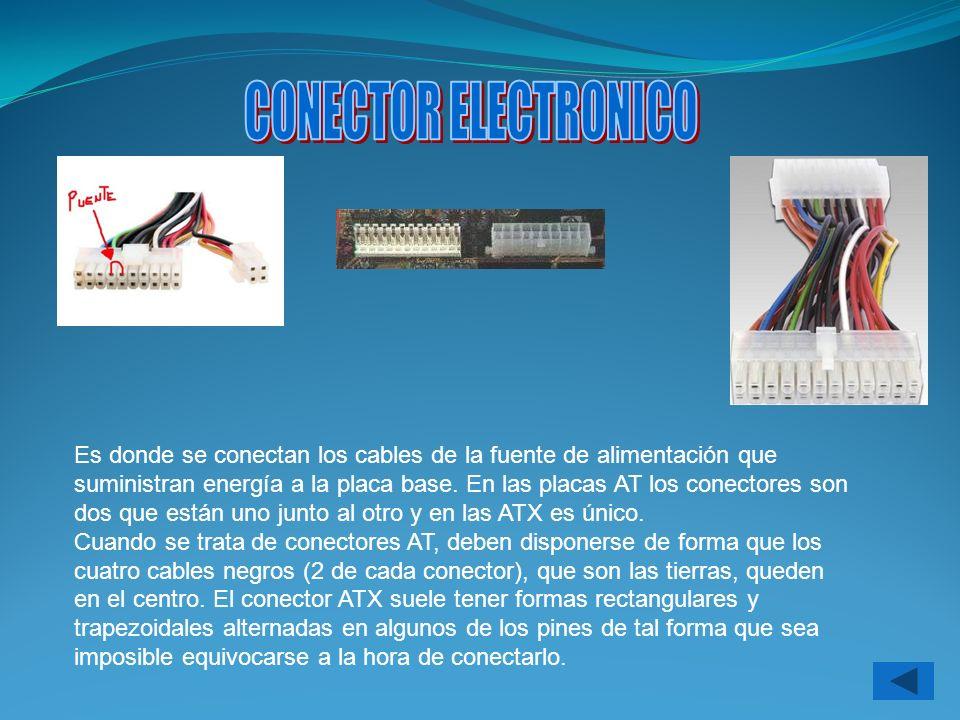 CONECTOR ELECTRONICO