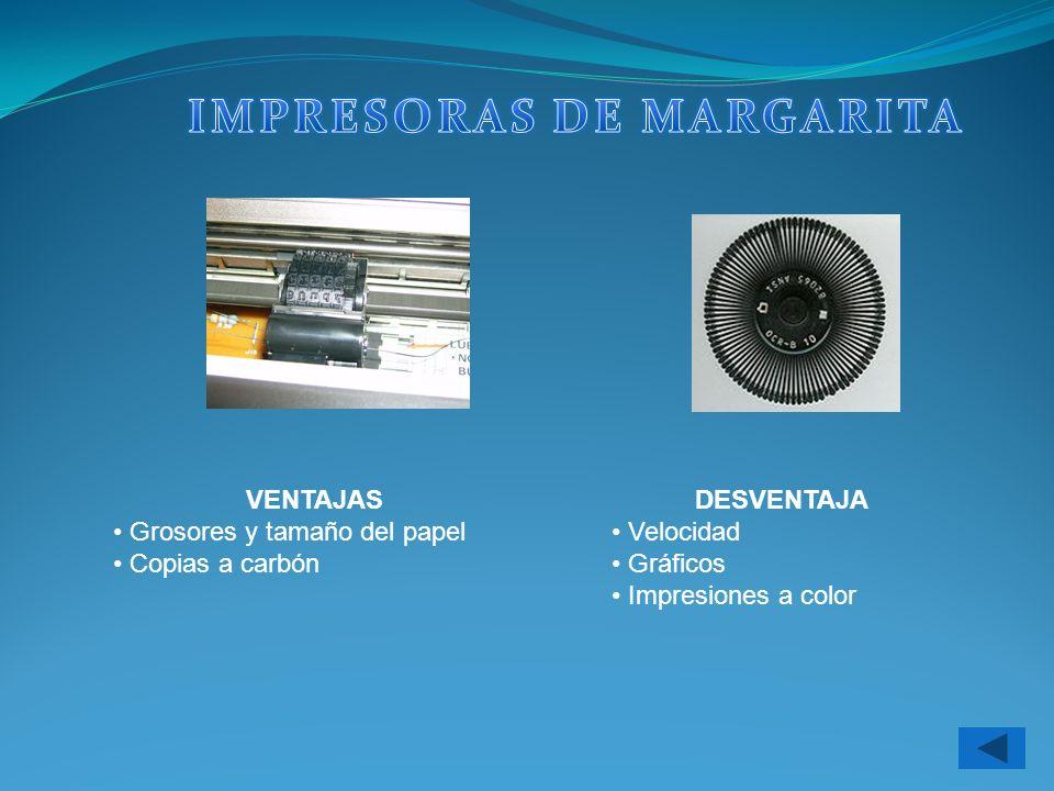 IMPRESORAS DE MARGARITA