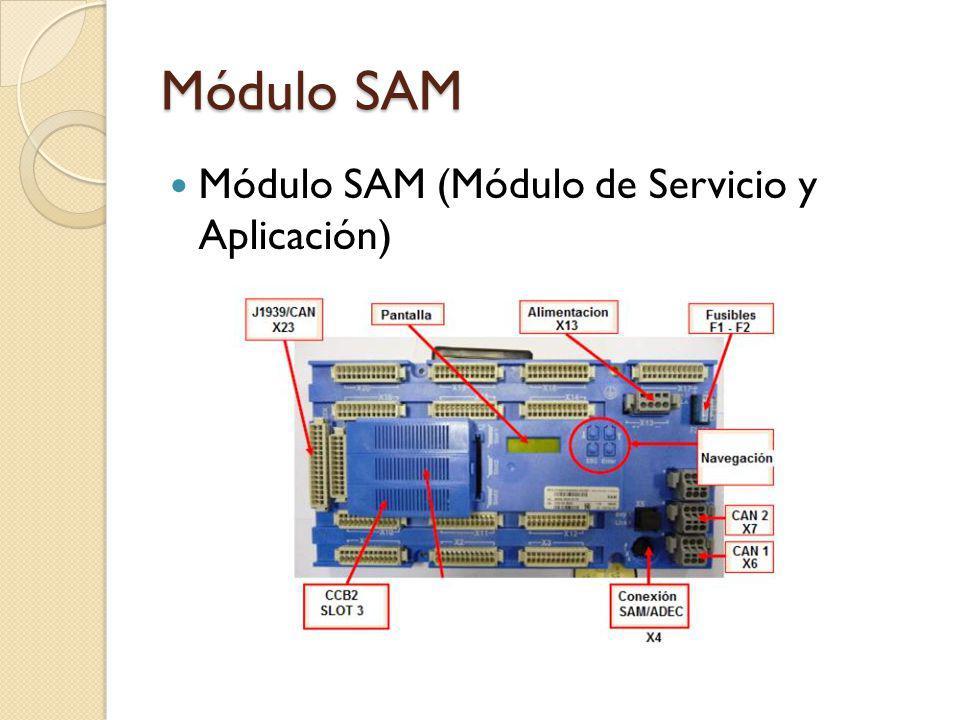 Módulo SAM Módulo SAM (Módulo de Servicio y Aplicación)