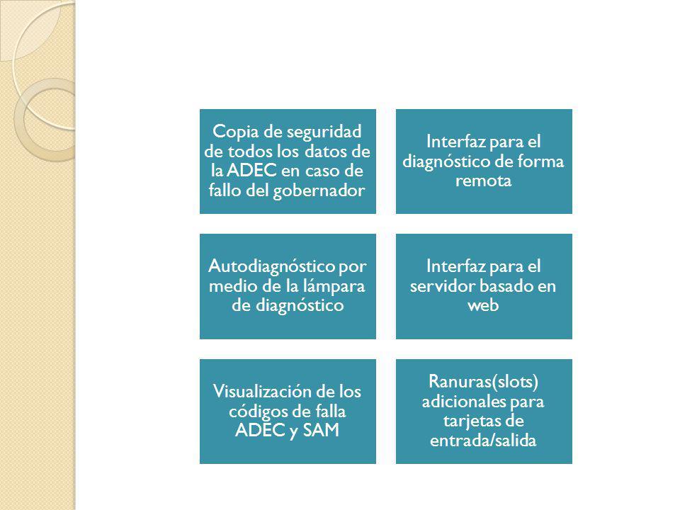 Interfaz para el diagnóstico de forma remota