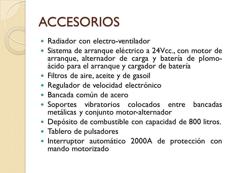 ACCESORIOS Radiador con electro-ventilador