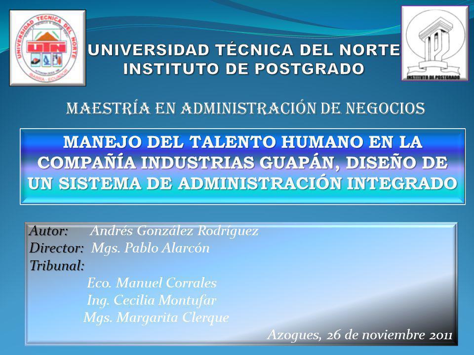 UNIVERSIDAD TÉCNICA DEL NORTE INSTITUTO DE POSTGRADO
