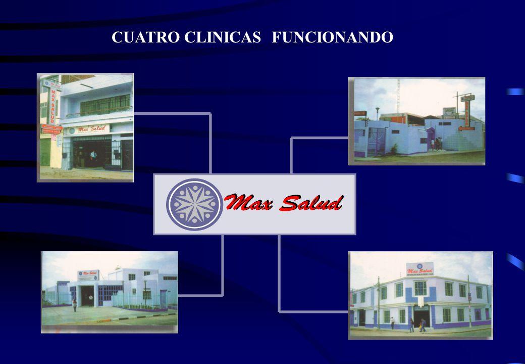 CUATRO CLINICAS FUNCIONANDO