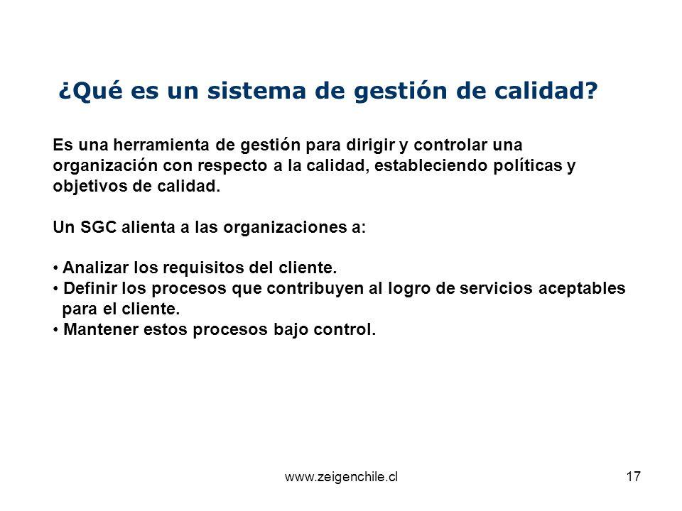 ¿Qué es un sistema de gestión de calidad
