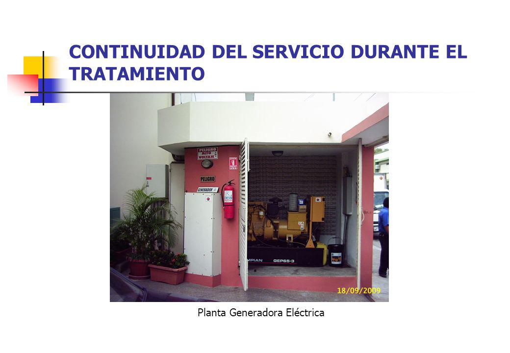 CONTINUIDAD DEL SERVICIO DURANTE EL TRATAMIENTO