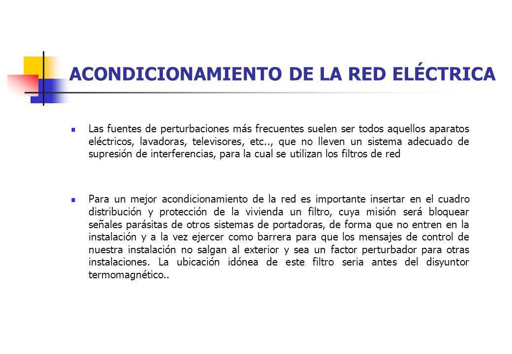 ACONDICIONAMIENTO DE LA RED ELÉCTRICA