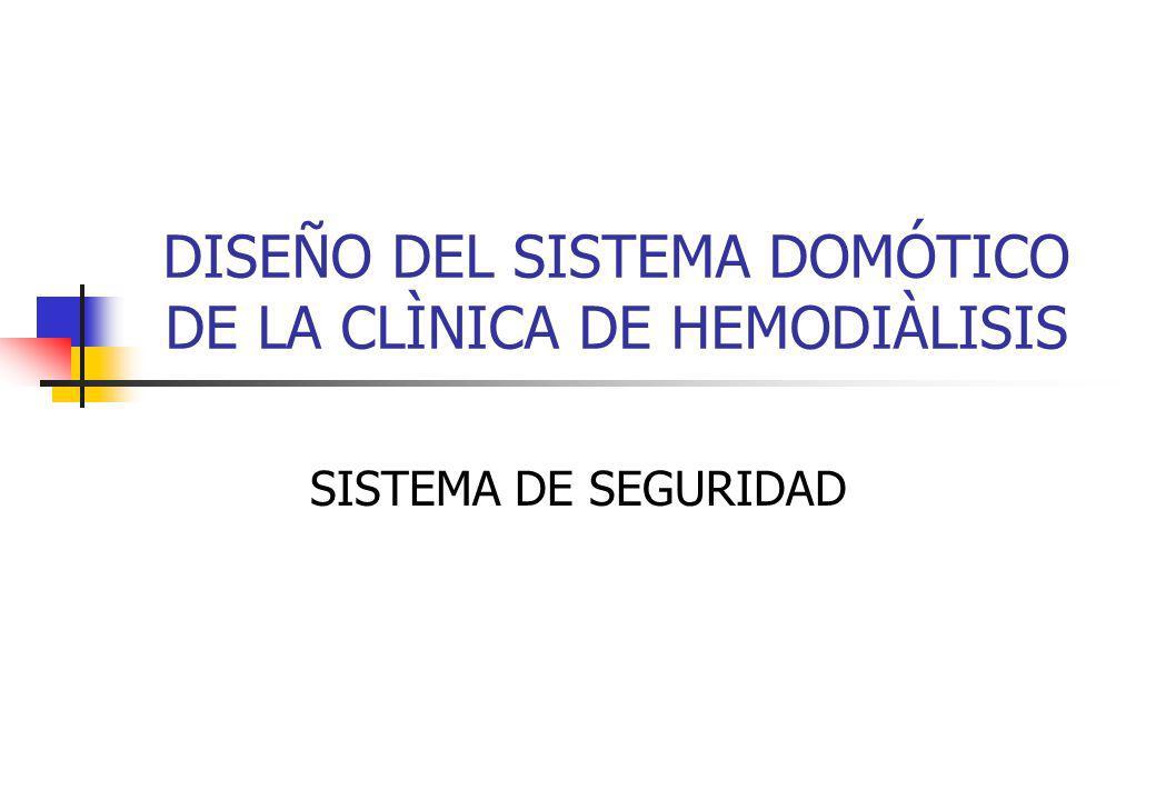 DISEÑO DEL SISTEMA DOMÓTICO DE LA CLÌNICA DE HEMODIÀLISIS