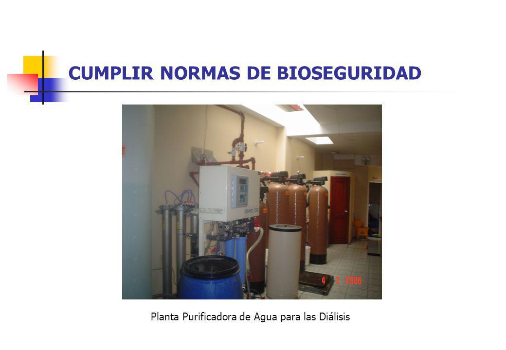 CUMPLIR NORMAS DE BIOSEGURIDAD