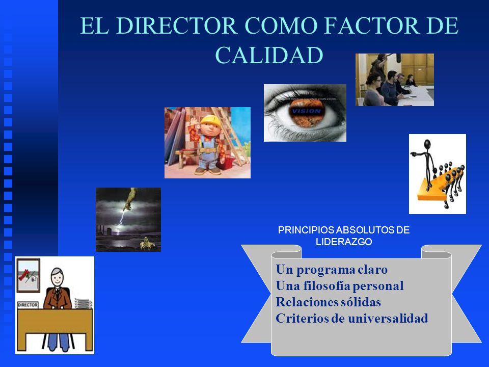 EL DIRECTOR COMO FACTOR DE CALIDAD