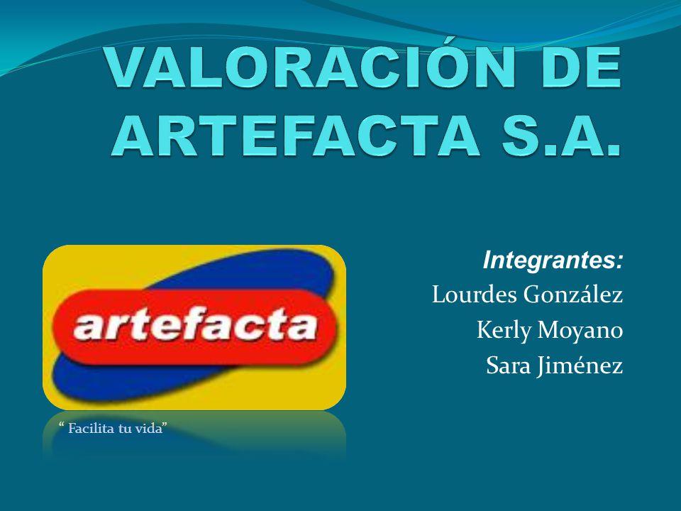 VALORACIÓN DE ARTEFACTA S.A.
