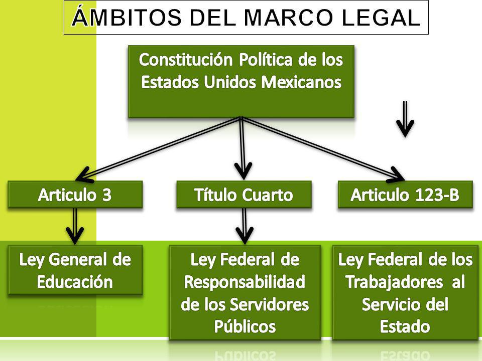 ÁMBITOS DEL MARCO LEGAL