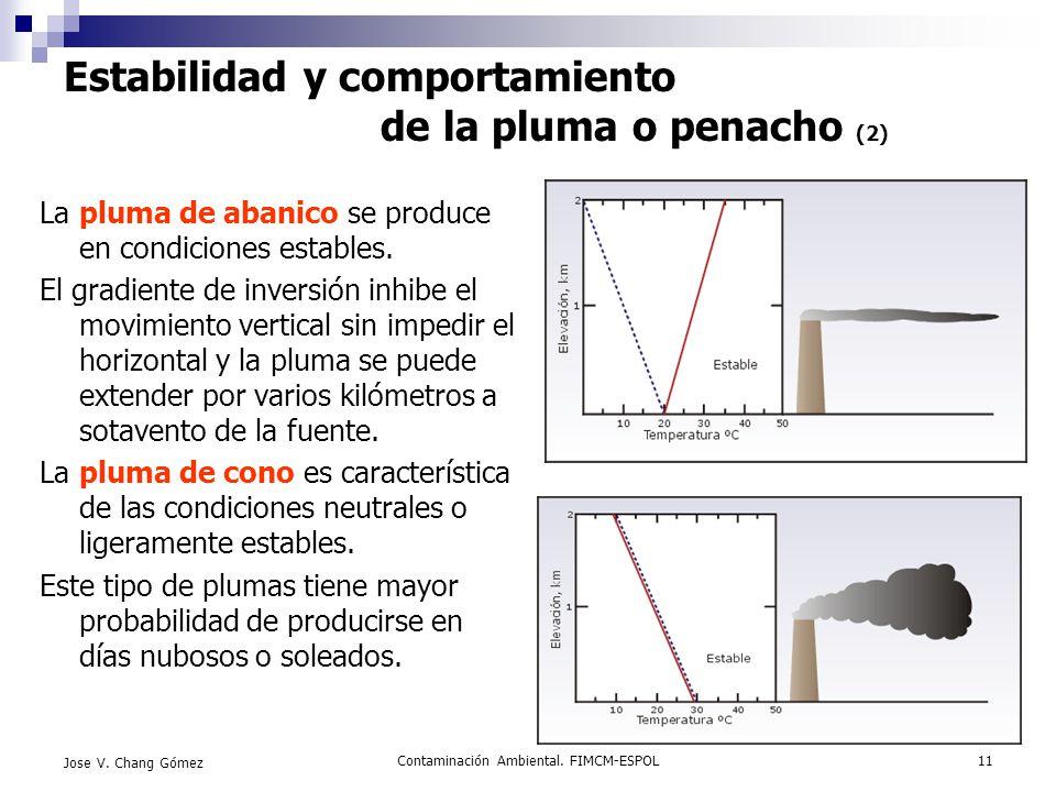 Estabilidad y comportamiento de la pluma o penacho (2)