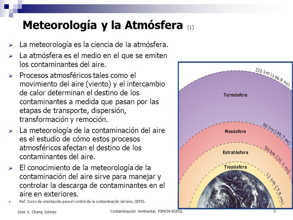 Meteorología y la Atmósfera (1)