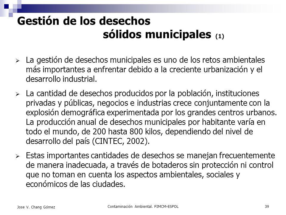 Gestión de los desechos sólidos municipales (1)