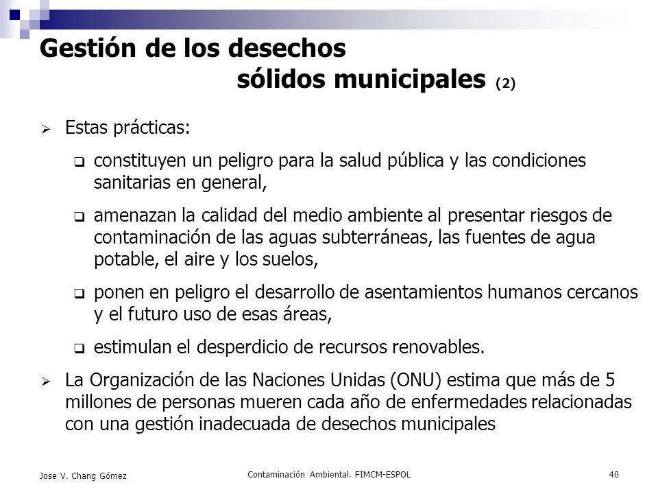 Gestión de los desechos sólidos municipales (2)