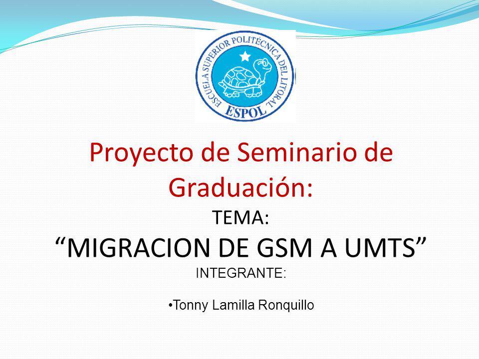 Proyecto de Seminario de Graduación: