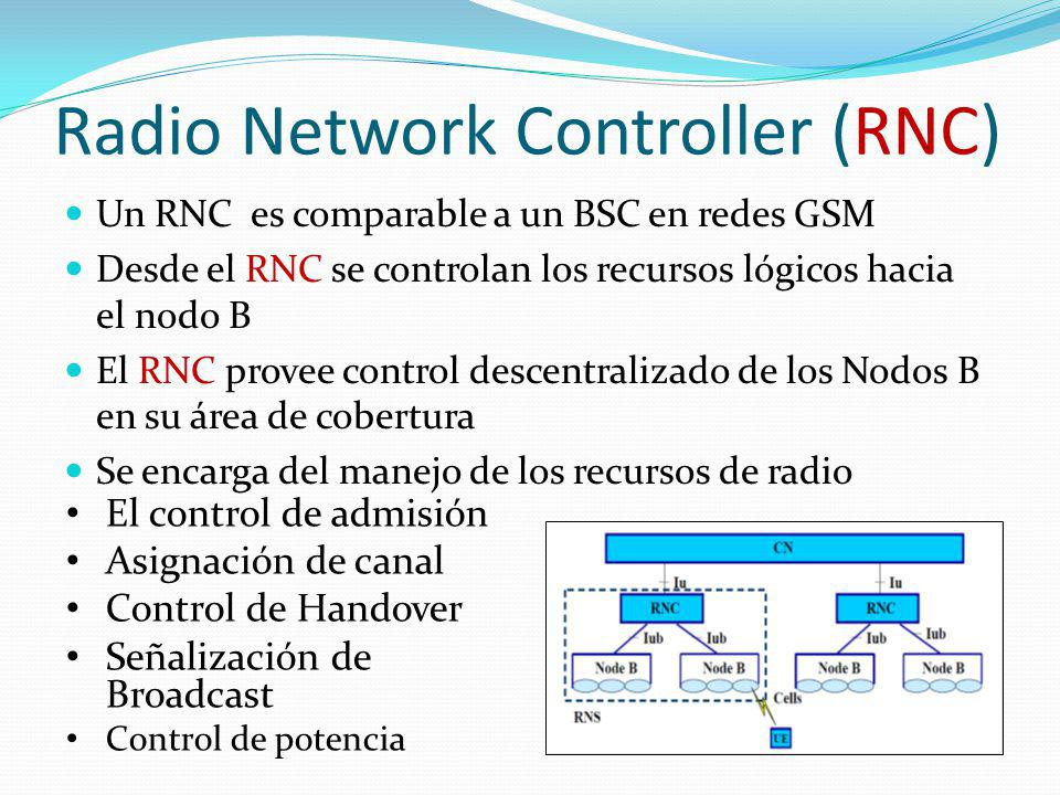 Radio Network Controller (RNC)