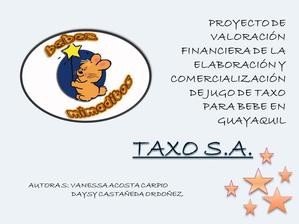 AUTORA S: VANESSA ACOSTA CARPIO DAYSY CASTAÑEDA ORDOÑEZ