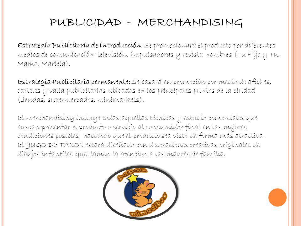 PUBLICIDAD - MERCHANDISING