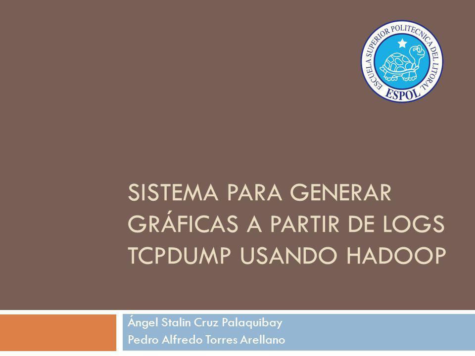 Sistema Para GENERAR gráficas a partir de logs tcpdump usando Hadoop