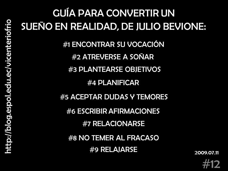 SUEÑO EN REALIDAD, DE JULIO BEVIONE: