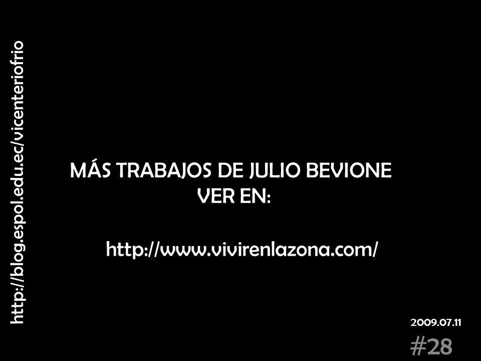 MÁS TRABAJOS DE JULIO BEVIONE