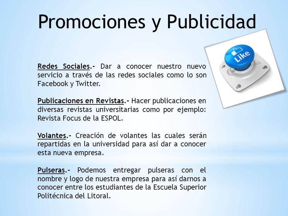 Promociones y Publicidad