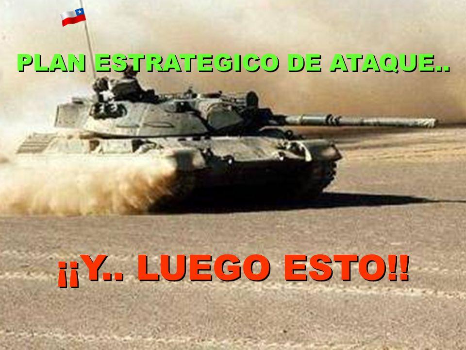 PLAN ESTRATEGICO DE ATAQUE..