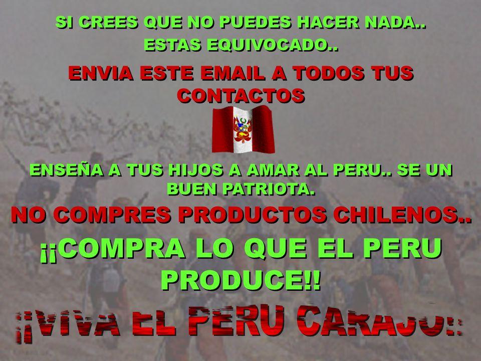 ¡¡COMPRA LO QUE EL PERU PRODUCE!!