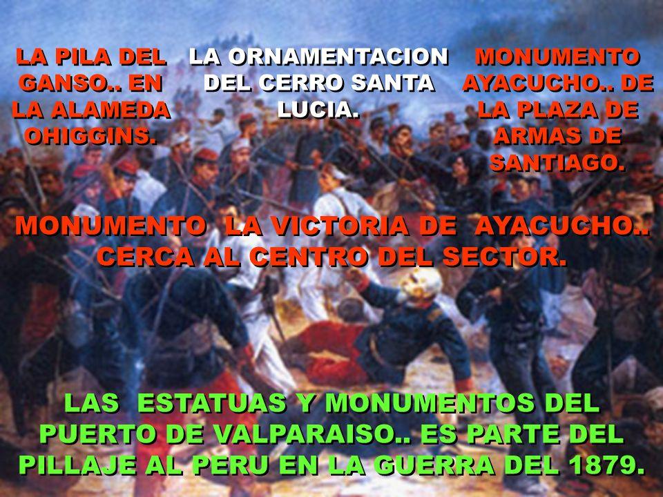 MONUMENTO LA VICTORIA DE AYACUCHO.. CERCA AL CENTRO DEL SECTOR.