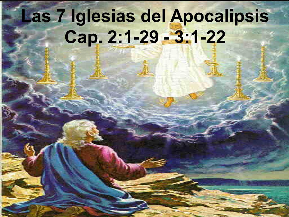 Las 7 Iglesias del Apocalipsis