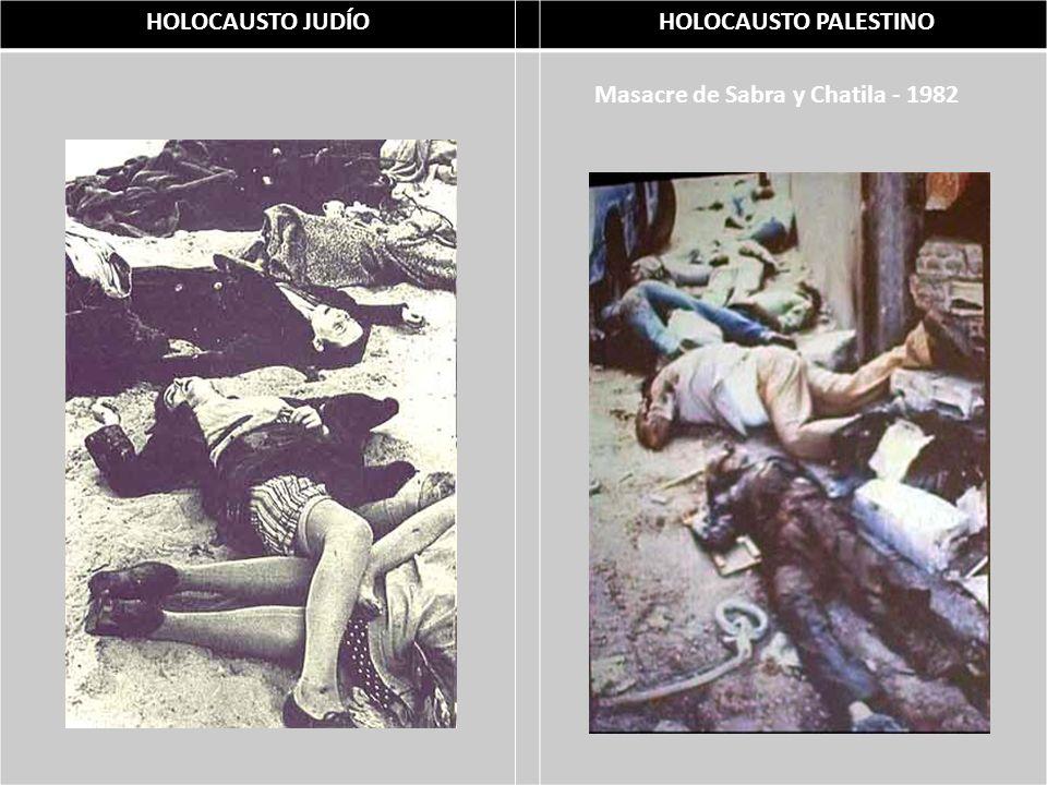 Masacre de Sabra y Chatila - 1982