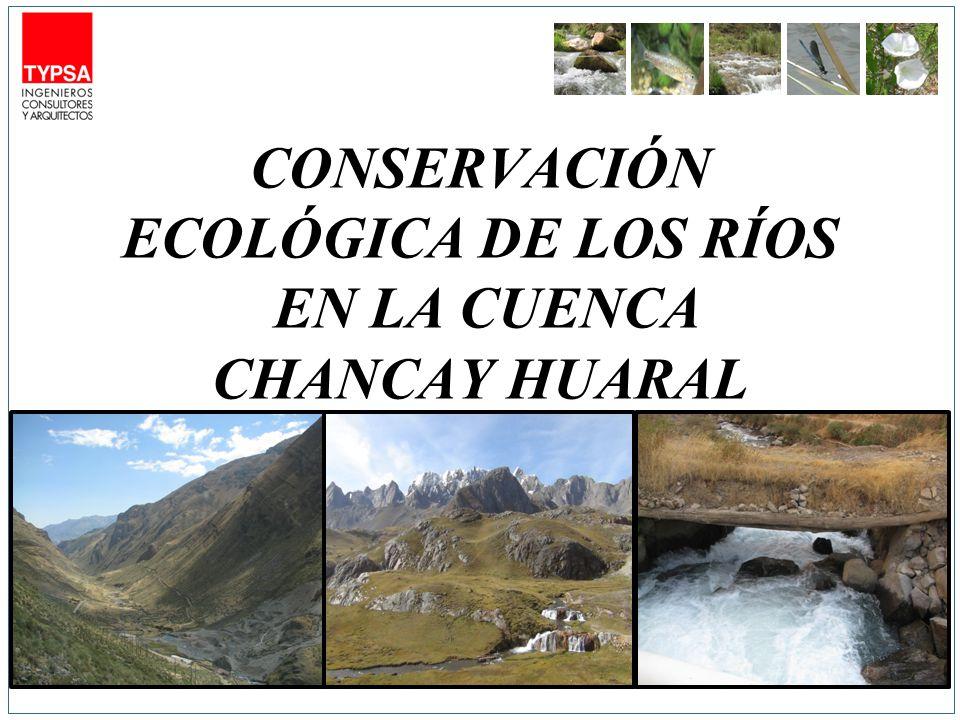 CONSERVACIÓN ECOLÓGICA DE LOS RÍOS EN LA CUENCA CHANCAY HUARAL