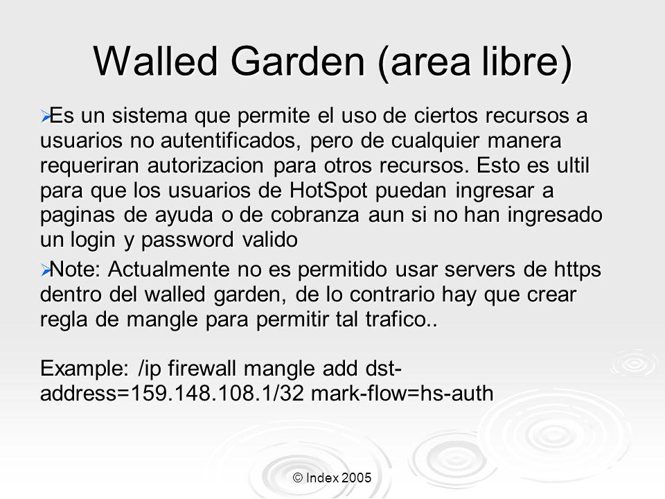 Walled Garden (area libre)