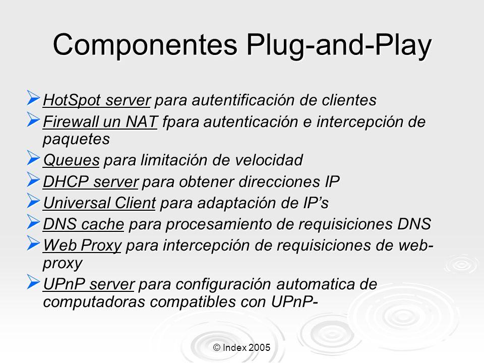 Componentes Plug-and-Play