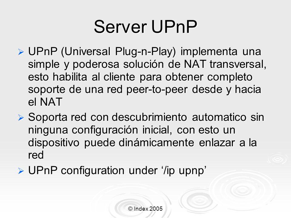 Server UPnP
