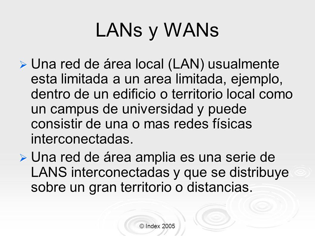 LANs y WANs