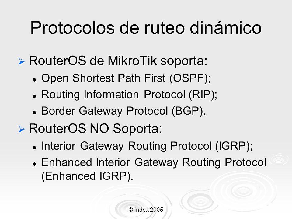 Protocolos de ruteo dinámico