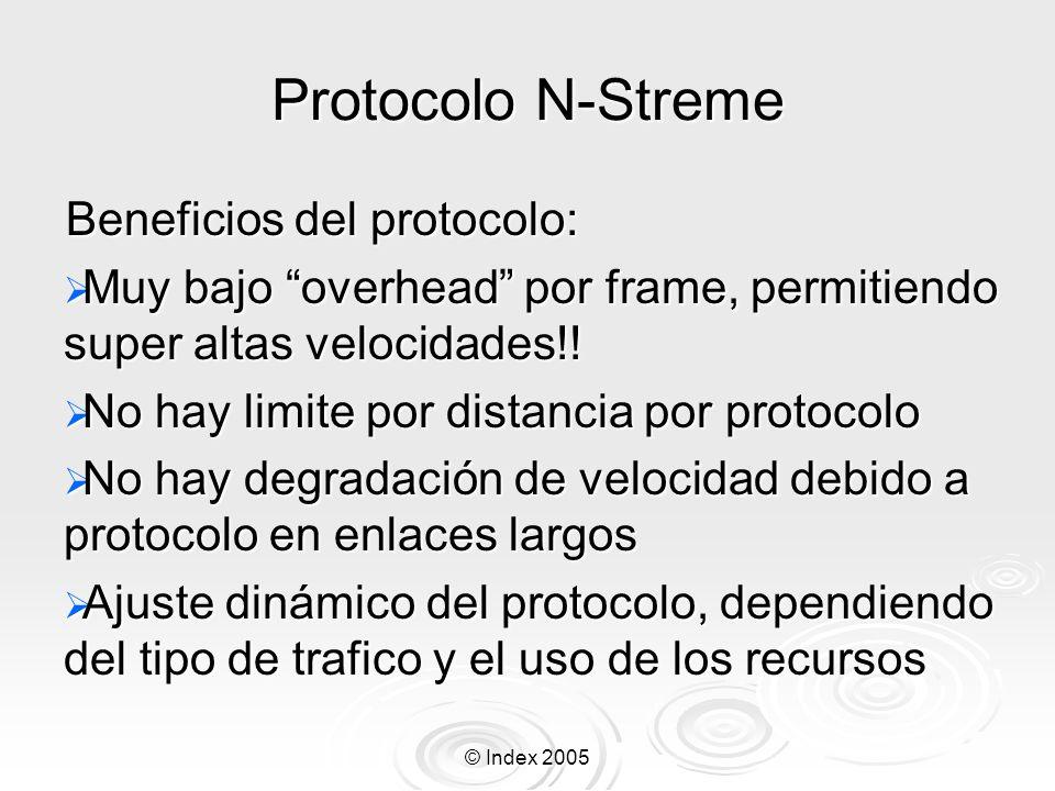 Protocolo N-Streme Beneficios del protocolo:
