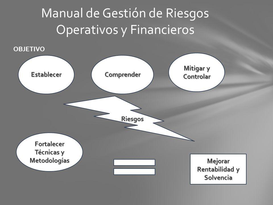Manual de Gestión de Riesgos Operativos y Financieros