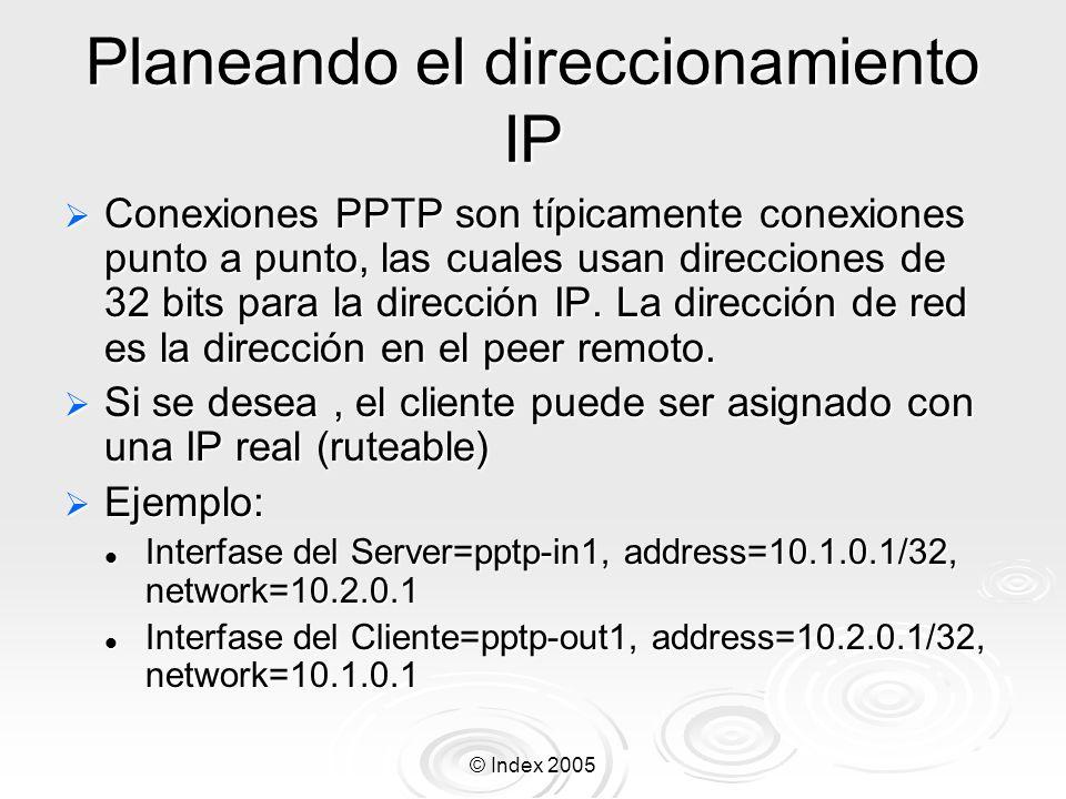 Planeando el direccionamiento IP