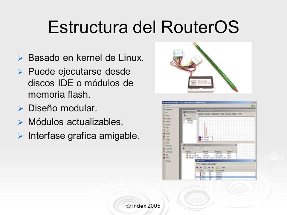 Estructura del RouterOS