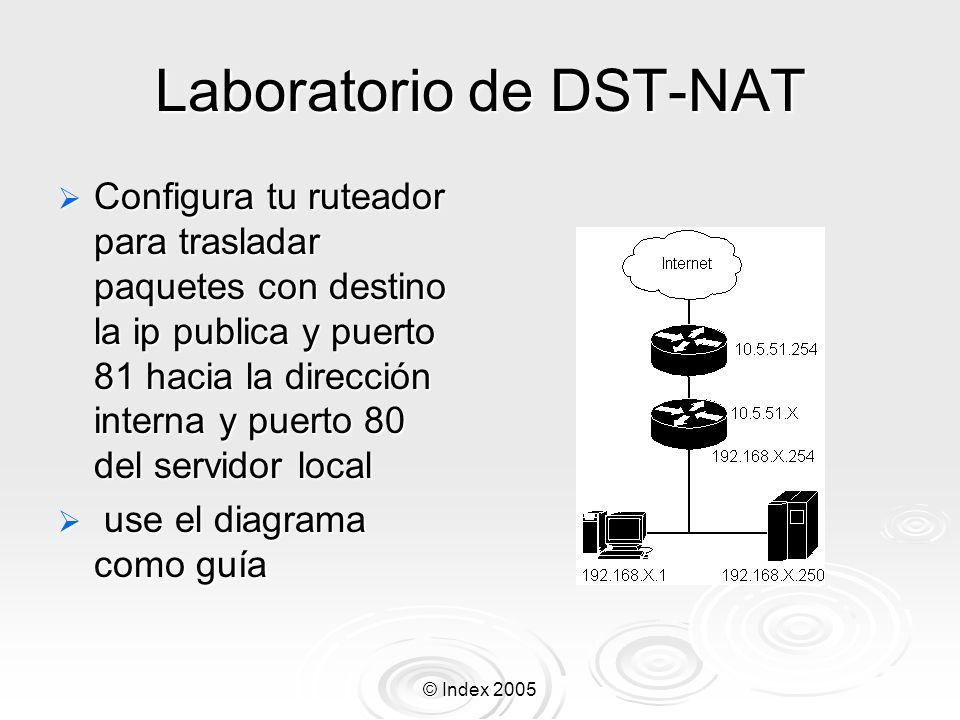 Laboratorio de DST-NAT