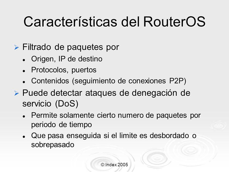 Características del RouterOS